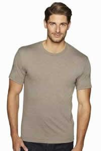 6010 Mens Tri-blend Venetian Gray T-Shirt